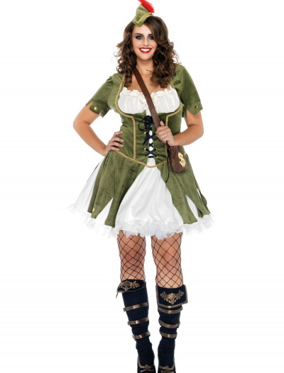 Plus Size Lady Robin Hood Costume, halloween costume (Plus Size Lady Robin Hood Costume)