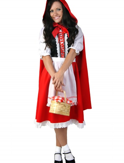 Plus Size Little Red Riding Hood Costume, halloween costume (Plus Size Little Red Riding Hood Costume)