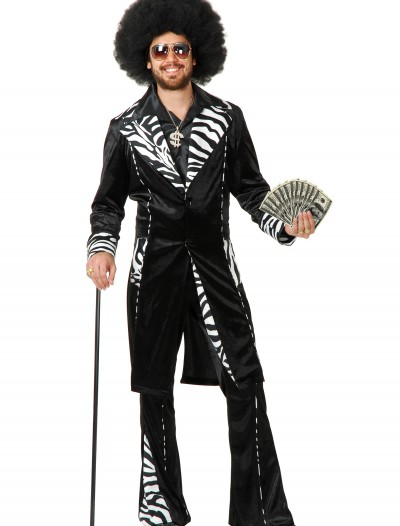 Plus Size Mac Daddy Pimp Costume, halloween costume (Plus Size Mac Daddy Pimp Costume)