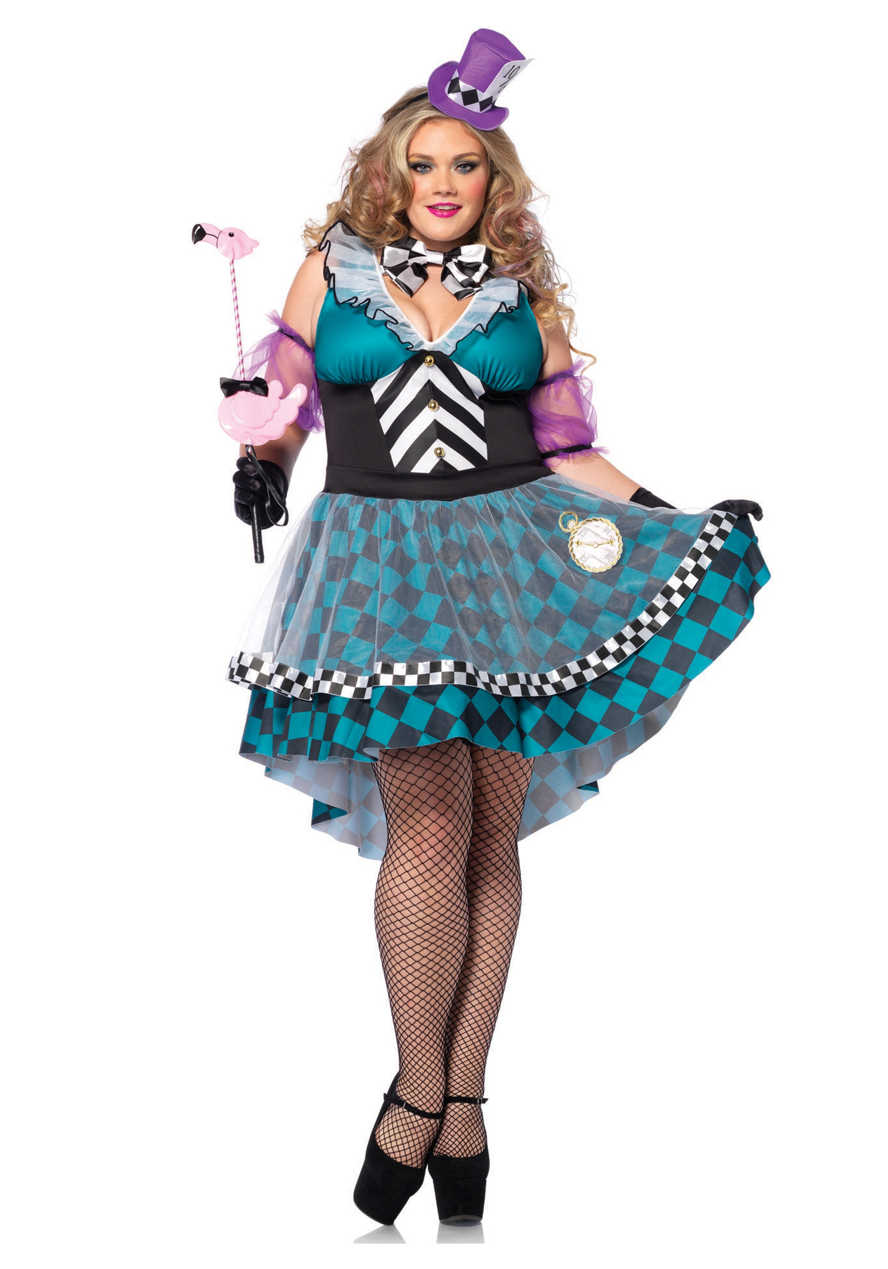 Plus Size Manic Mad Hatter Costume  sc 1 st  Halloween Costumes & Plus Size Manic Mad Hatter Costume - Halloween Costumes