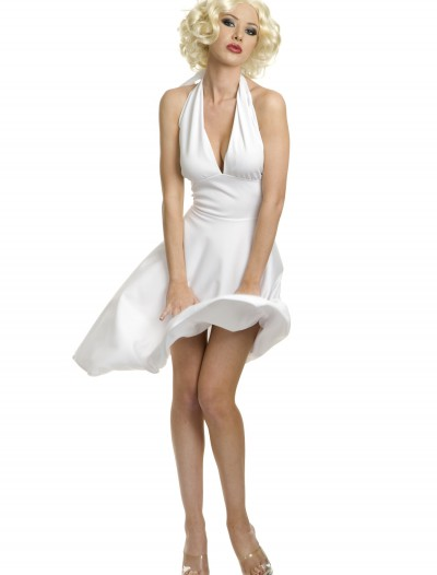 Plus Size Marilyn Halter Dress, halloween costume (Plus Size Marilyn Halter Dress)