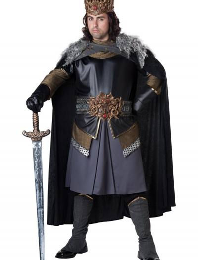 Plus Size Medieval King Costume, halloween costume (Plus Size Medieval King Costume)