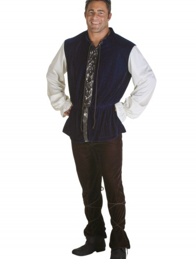 Plus Size Medieval Tavern Man Costume, halloween costume (Plus Size Medieval Tavern Man Costume)
