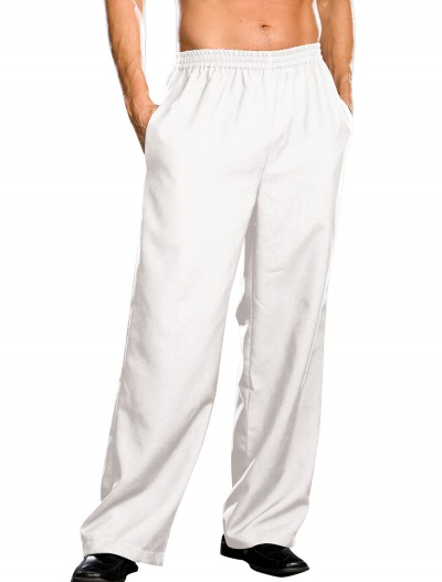 Plus Size Mens White Pants, halloween costume (Plus Size Mens White Pants)