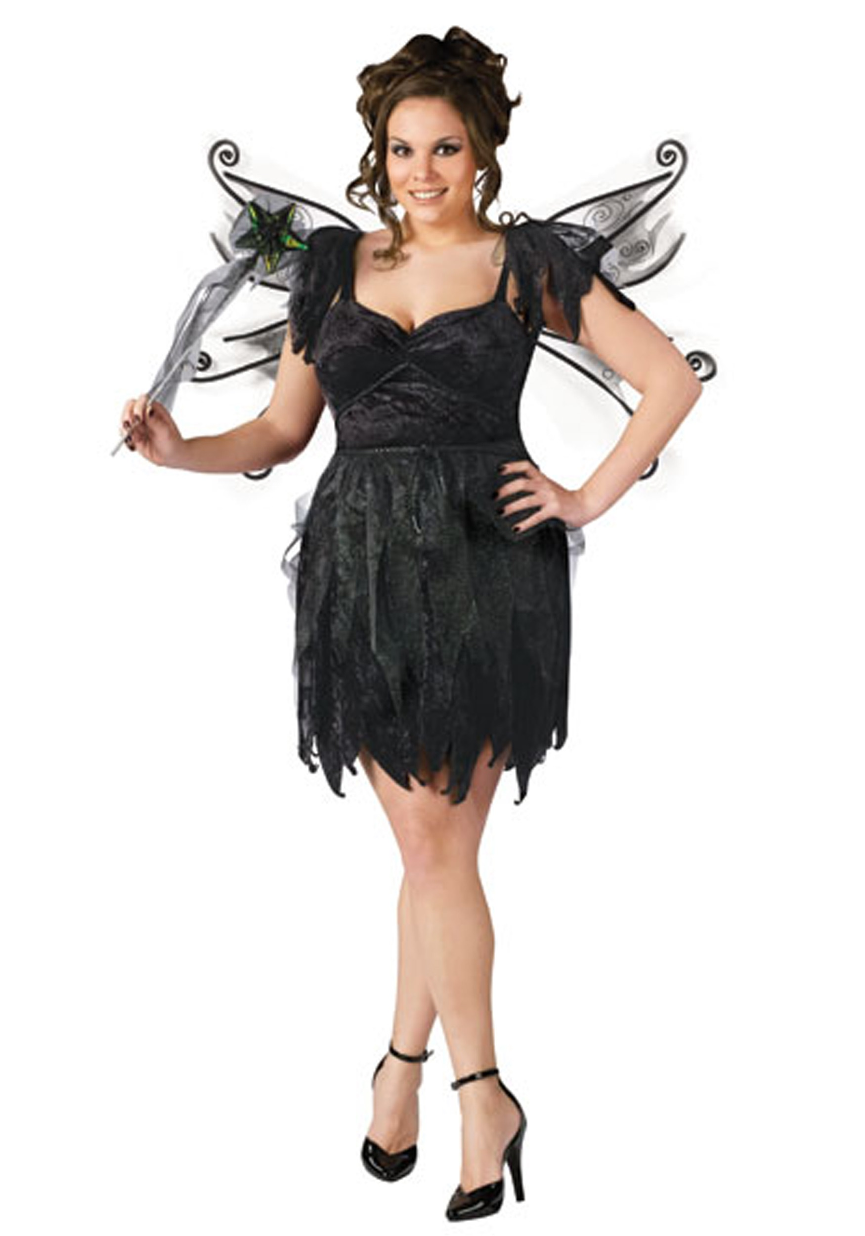 Plus Size Midnight Fairy Costume  sc 1 st  Halloween Costumes & Plus Size Midnight Fairy Costume - Halloween Costumes