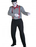 Plus Size Mime Costume, halloween costume (Plus Size Mime Costume)