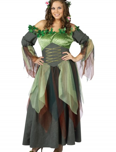 Plus Size Mother Nature Costume, halloween costume (Plus Size Mother Nature Costume)