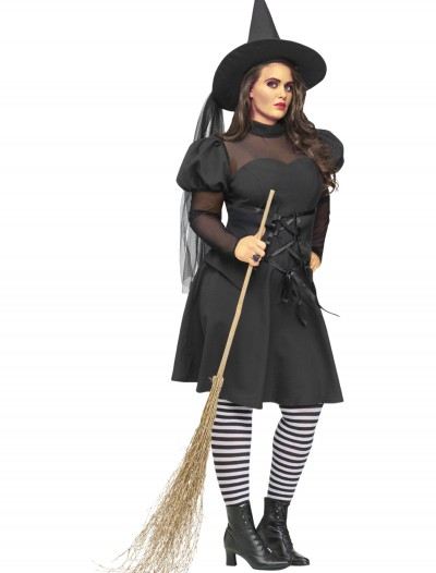 Plus Size Ms. Witch Costume, halloween costume (Plus Size Ms. Witch Costume)