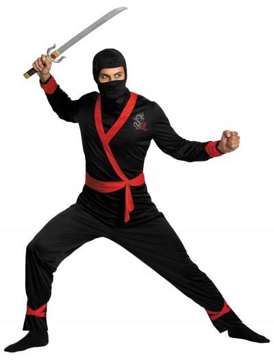 Plus Size Ninja Master Costume, halloween costume (Plus Size Ninja Master Costume)