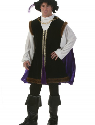 Plus Size Noble Renaissance Man Costume, halloween costume (Plus Size Noble Renaissance Man Costume)