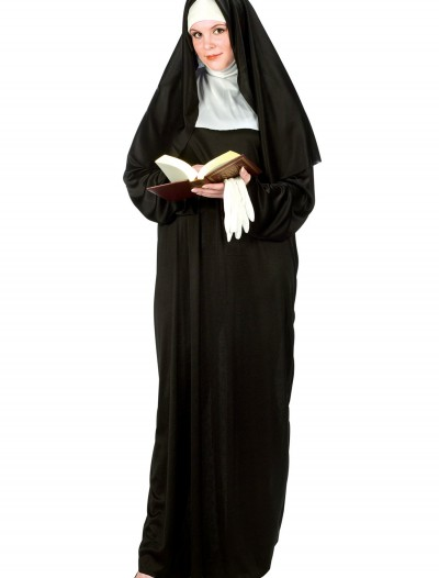 Plus Size Nun Costume, halloween costume (Plus Size Nun Costume)