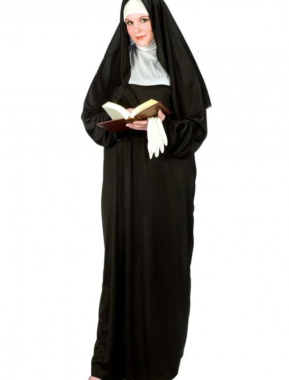 Plus Size Nun Costume, halloween costume (Plus Size Nun Costume)