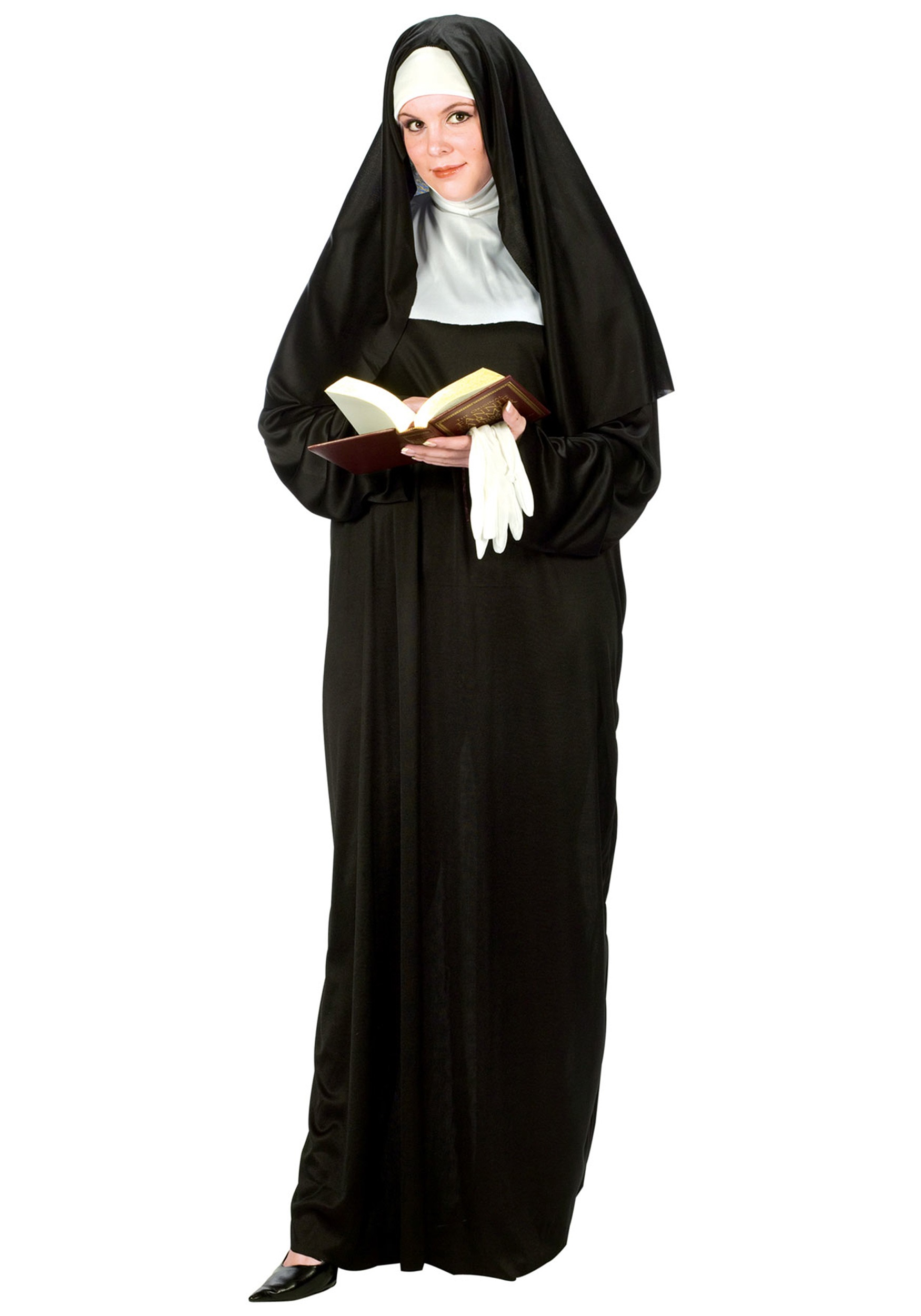 Plus Size Nun Costume Halloween Costumes