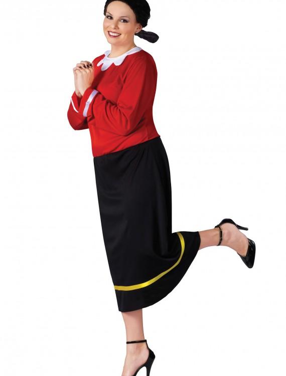 Plus Size Olive Oyl Costume, halloween costume (Plus Size Olive Oyl Costume)
