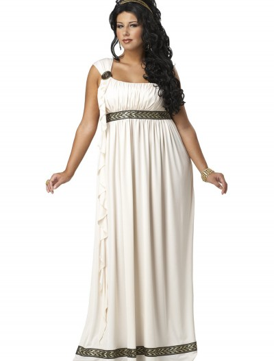 Plus Size Olympic Goddess Costume, halloween costume (Plus Size Olympic Goddess Costume)