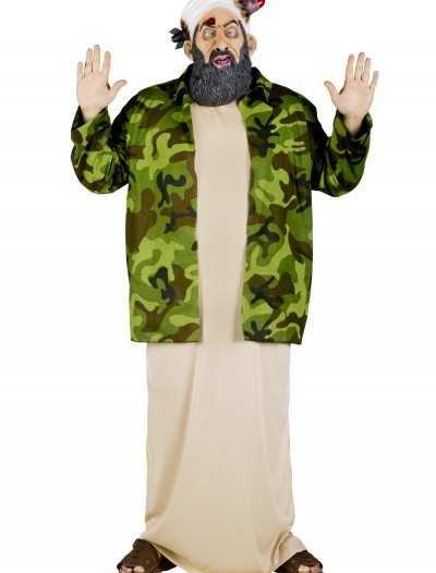 Plus Size Osama Bin Laden Costume, halloween costume (Plus Size Osama Bin Laden Costume)