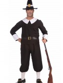 Plus Size Pilgrim Man Costume, halloween costume (Plus Size Pilgrim Man Costume)