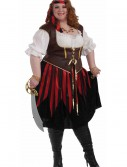 Plus Size Pirate Lady Costume, halloween costume (Plus Size Pirate Lady Costume)