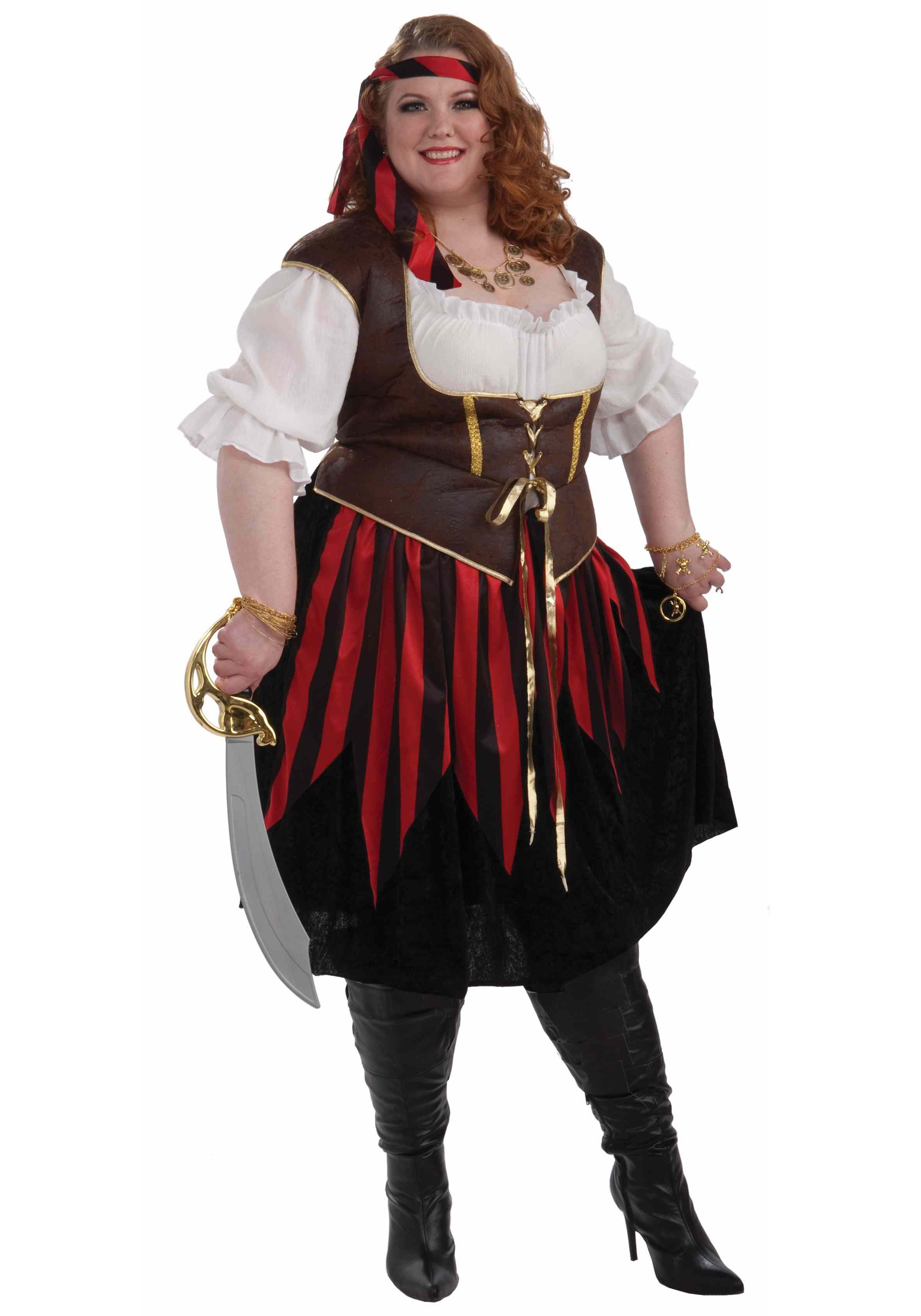 1bbed985a19 Plus Size Pirate Lady Costume