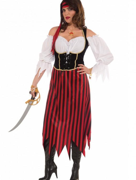 Plus Size Pirate Maiden Costume, halloween costume (Plus Size Pirate Maiden Costume)