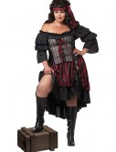 Plus Size Pirate Wench Costume, halloween costume (Plus Size Pirate Wench Costume)