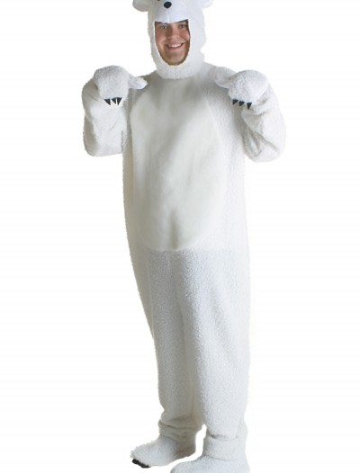 Plus Size Polar Bear Costume, halloween costume (Plus Size Polar Bear Costume)