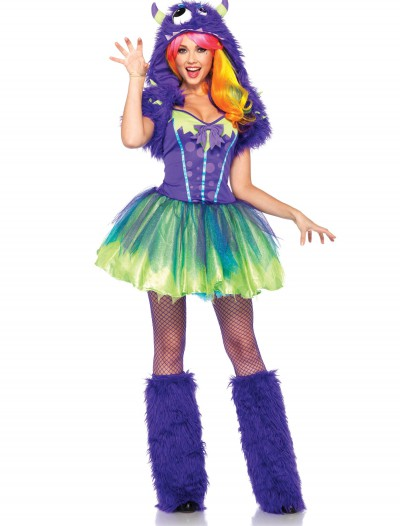Plus Size Purple Posh Monster Costume, halloween costume (Plus Size Purple Posh Monster Costume)
