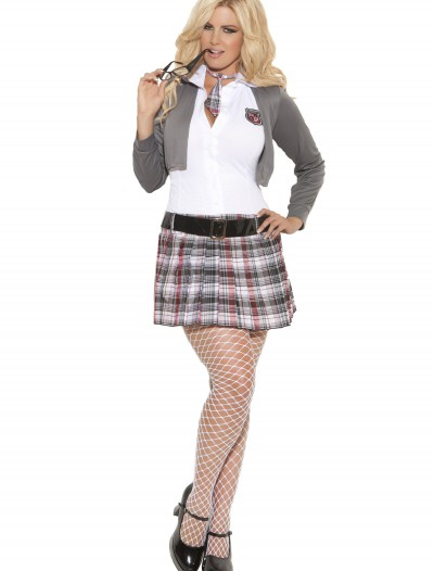 Plus Size Queen of Detention Costume, halloween costume (Plus Size Queen of Detention Costume)