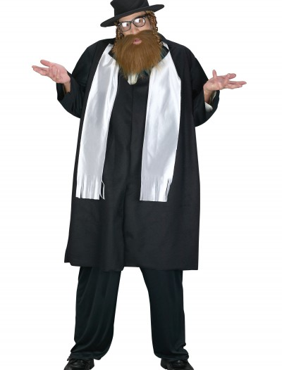 Plus Size Rabbi Costume, halloween costume (Plus Size Rabbi Costume)