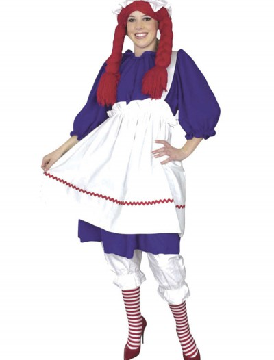 Plus Size Rag Doll Costume, halloween costume (Plus Size Rag Doll Costume)