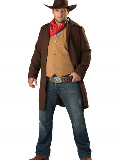 Plus Size Rawhide Cowboy Costume, halloween costume (Plus Size Rawhide Cowboy Costume)