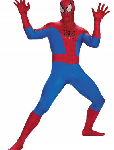 Plus Size Realistic Spiderman Costume, halloween costume (Plus Size Realistic Spiderman Costume)