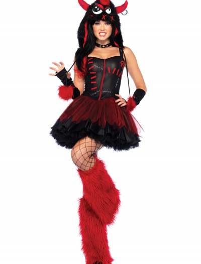 Plus Size Rebel Monster Costume, halloween costume (Plus Size Rebel Monster Costume)