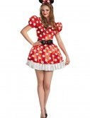 Plus Size Red Minnie Classic Costume, halloween costume (Plus Size Red Minnie Classic Costume)