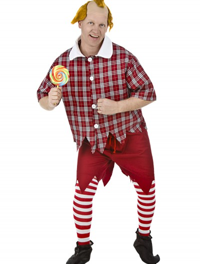 Plus Size Red Munchkin Costume, halloween costume (Plus Size Red Munchkin Costume)