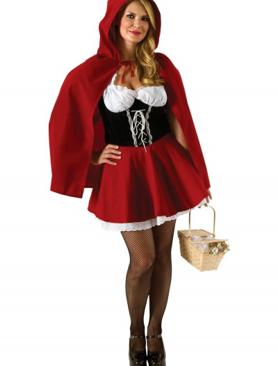 Plus Size Red Riding Hood Costume, halloween costume (Plus Size Red Riding Hood Costume)