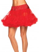 Plus Size Red Tulle Petticoat, halloween costume (Plus Size Red Tulle Petticoat)