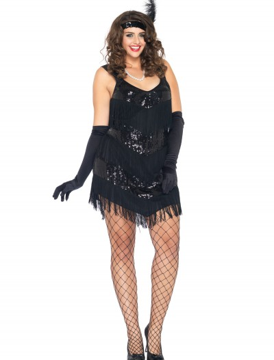 Plus Size Roaring 20s Honey Costume, halloween costume (Plus Size Roaring 20s Honey Costume)