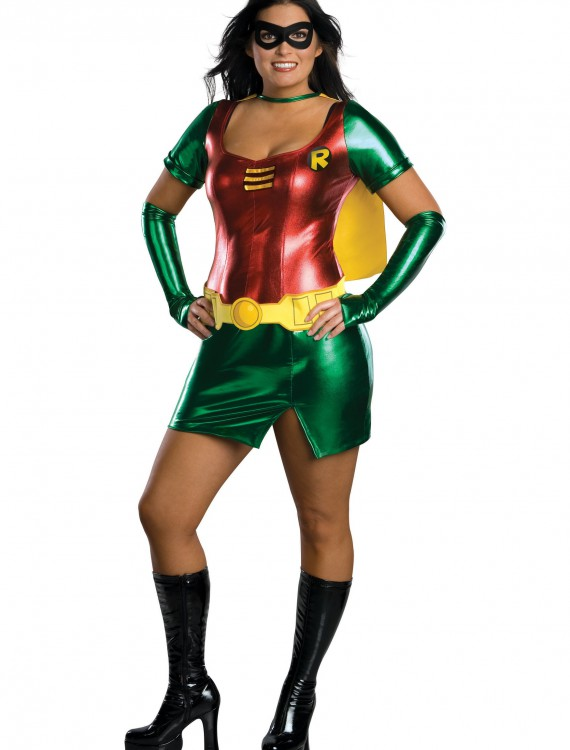 Plus Size Robin Girl Costume, halloween costume (Plus Size Robin Girl Costume)