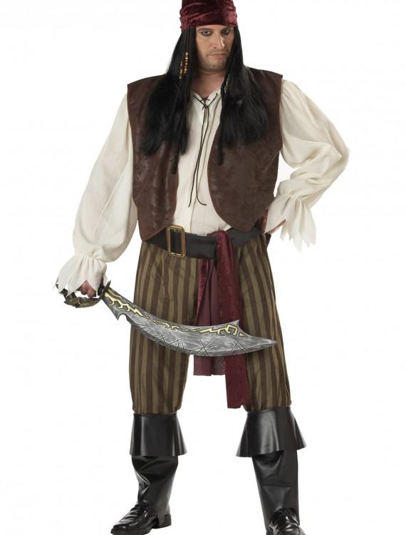 Plus Size Rogue Pirate Costume, halloween costume (Plus Size Rogue Pirate Costume)