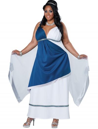 Plus Size Roman Beauty Costume, halloween costume (Plus Size Roman Beauty Costume)