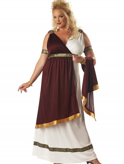 Plus Size Roman Empress Costume, halloween costume (Plus Size Roman Empress Costume)