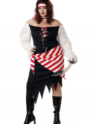 Plus Size Ruby the Pirate Beauty Costume, halloween costume (Plus Size Ruby the Pirate Beauty Costume)