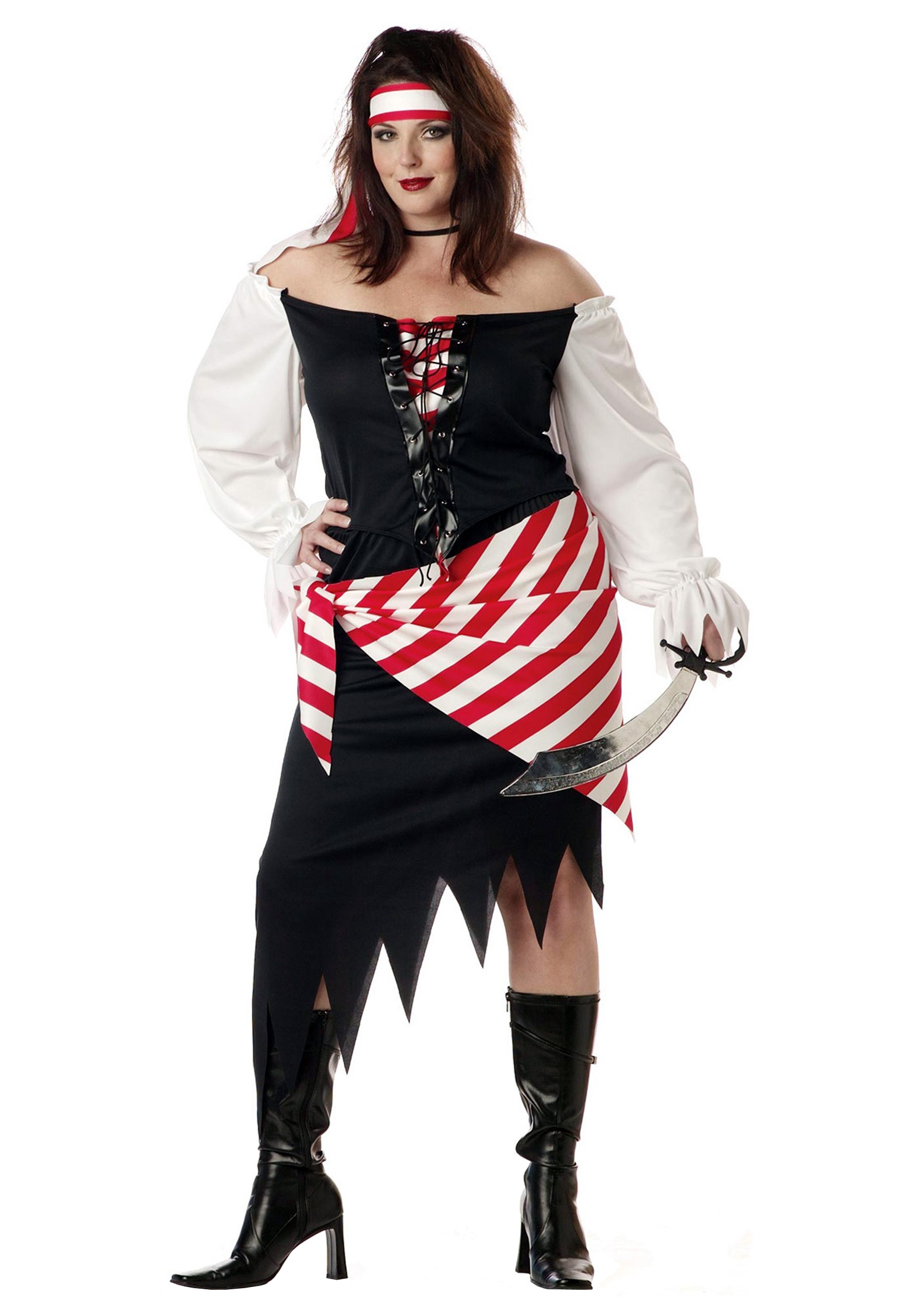 72dfb012d22 Plus Size Ruby the Pirate Beauty Costume