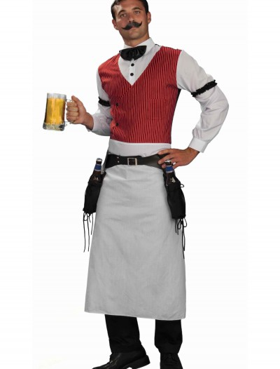 Plus Size Saloon Bartender Costume, halloween costume (Plus Size Saloon Bartender Costume)