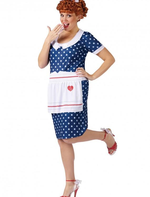 Plus Size Sassy Lucy Costume, halloween costume (Plus Size Sassy Lucy Costume)