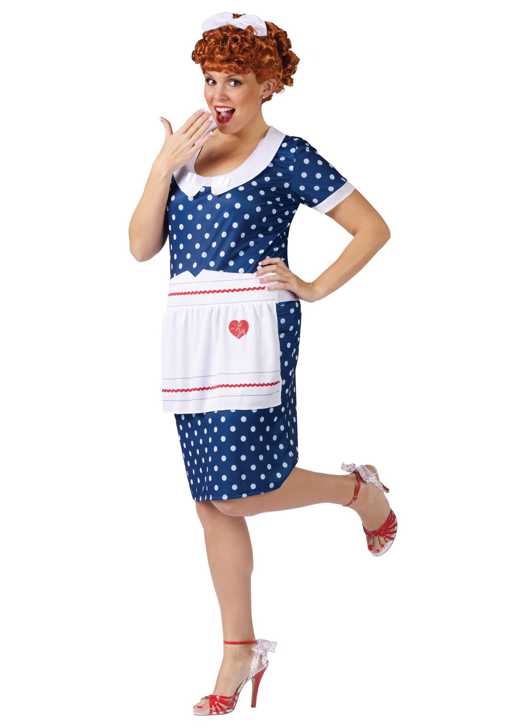 plus size sassy lucy costume