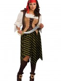 Plus Size Sea Wench Costume, halloween costume (Plus Size Sea Wench Costume)