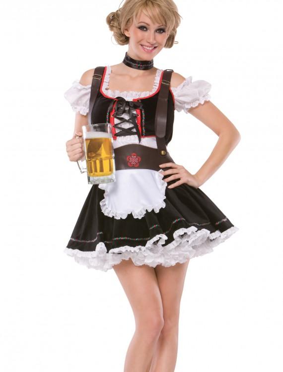 Plus Size Sexy Beer Maiden Costume, halloween costume (Plus Size Sexy Beer Maiden Costume)