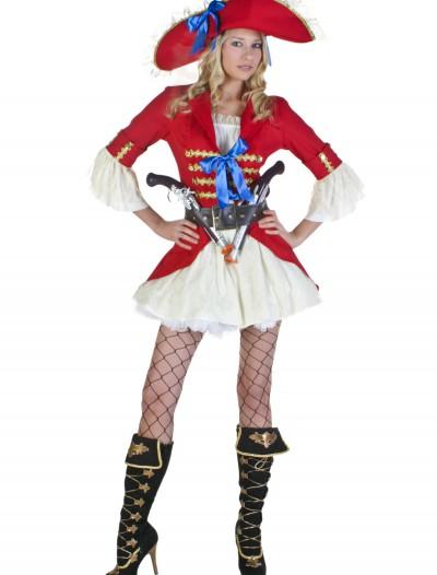 Plus Size Sexy Captain Blackheart Costume, halloween costume (Plus Size Sexy Captain Blackheart Costume)